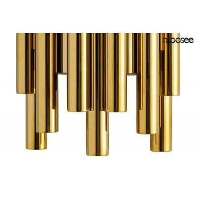 Moosee MOOSEE kinkiet ORGANO złoty - LED, stal polerowana MSE010400198