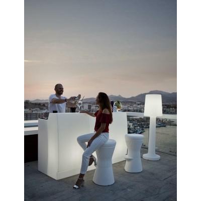 New Garden NEW GARDEN barek SICILIA 75 C biały - LED MOBSC075OFNW