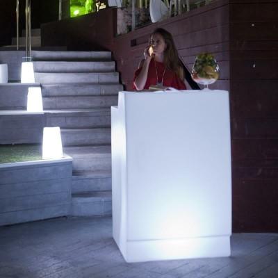 New Garden NEW GARDEN barek SICILIA 75 SOLAR biały - LED, sterowanie pilotem MOBSC075SSNW