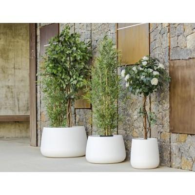New Garden NEW GARDEN donica CAMELIA 60 C biała - LED LUMCA060OFNW