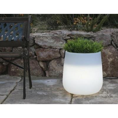 New Garden NEW GARDEN donica CAMELIA 80 C biała - LED LUMCA080OFNW