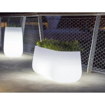 New Garden NEW GARDEN donica CAMELIA LARGE C biała - LED LUMCALAROFNW