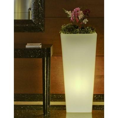 New Garden NEW GARDEN donica MELISA 30 C biała - LED LUMML030FNW