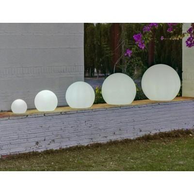 New Garden NEW GARDEN lampa ogrodowa BULY 30 biała - LED LUMBLG30FNW