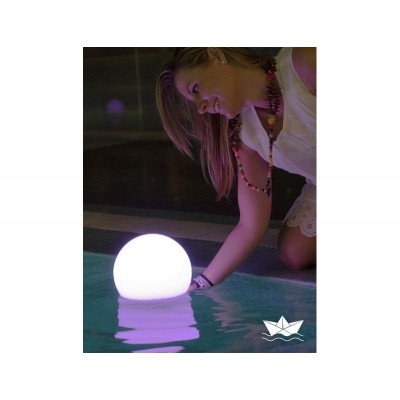 New Garden NEW GARDEN lampa ogrodowa BULY 30 FLO biała - LED, pływająca LUMBL030FTNW