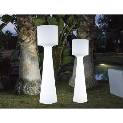 New Garden NEW GARDEN lampa ogrodowa GRACE 170 B biała - LED, wbudowana bateria LUMGC170WLNW