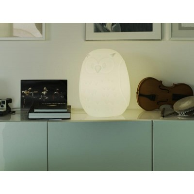 New Garden NEW GARDEN lampa ogrodowa GUFO 40 C biała - LED LUMGF040OFNW