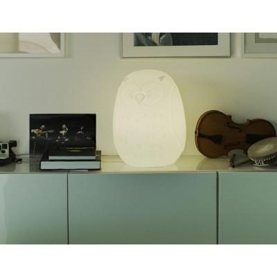 New Garden NEW GARDEN lampa ogrodowa GUFO 40 SOLAR biała - LED, sterowanie pilotem LUMGF040SSNW