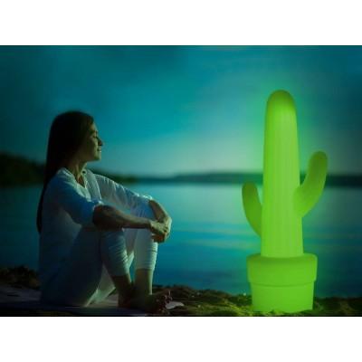 New Garden NEW GARDEN lampa ogrodowa KAKTUS C  limonkowa - LED LUMKL100OFNW