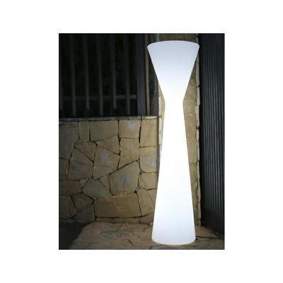 New Garden NEW GARDEN lampa podłogowa KONIKA 170 B biała - LED, wbudowana bateria LIMKN170WLNW
