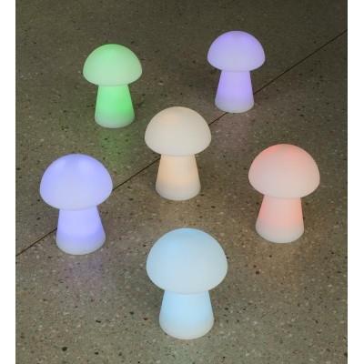 New Garden NEW GARDEN lampa stołowa MAFALDA B biała - LED, wbudowana bateria LUMMF030WLNW