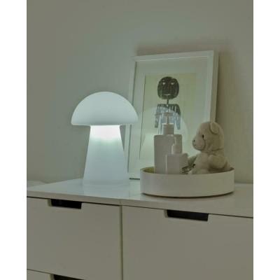New Garden NEW GARDEN lampa stołowa MAFALDA C biała - LED LUMMF030ICNW