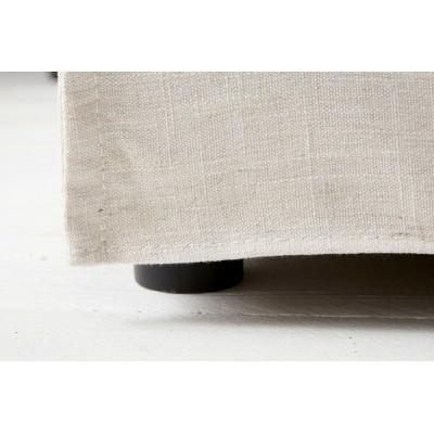 Invicta Interior Sofa HEAVEN trzyosobowa lniana - tkanina SO71WE/OAT1-1