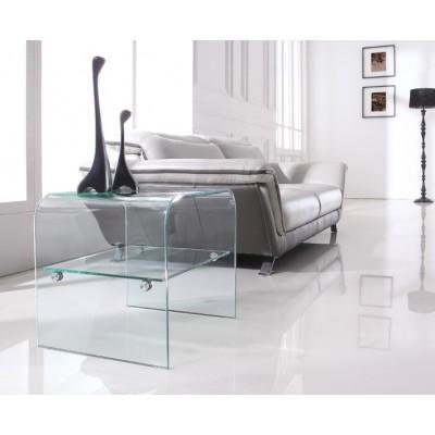 Stolik szklany LEVEL - szkło transparentne NS-03