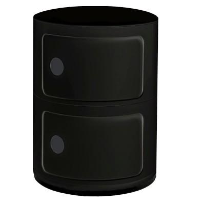 King Home Szafka COMBI 2 czarna BB-02N.BLACK