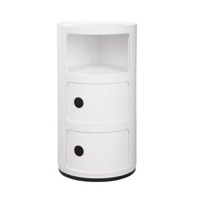 King Home Szafka COMBI 3 biała BB-02AN