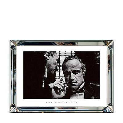 """Plakat w Lustrzanej Ramie """"Godfather"""" 70 cm x 90 cm"""