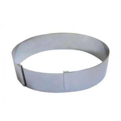 de Buyer Rant okrągły regulowany śr. 18-36 cm, wys. 4,5 cm D-3040-01