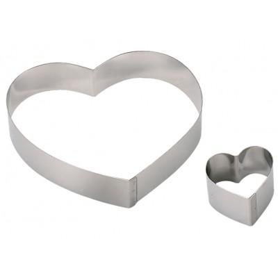de Buyer Rant w kształcie serca szer.18 cm D-3077-18