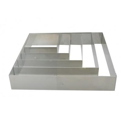 de Buyer Rant kwadratowy 8x8 cm D-3906-08