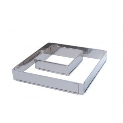 de Buyer Rant kwadratowy regulowany 16 cm D-3013-16