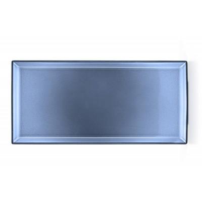 Equinoxe talerz prostokątny 32.5 x 15 cm niebieski Revol RV-649568-4