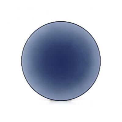 Equinoxe talerz płaski śr. 28 cm niebieski Revol RV-649500-6