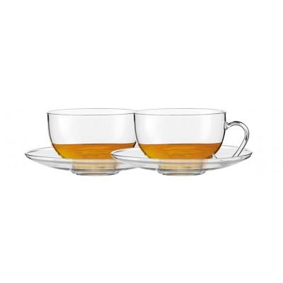 Jenaer Glas Zestaw 2 filiżanek Relax 0,37 L ze spodkiem SH-118719-2