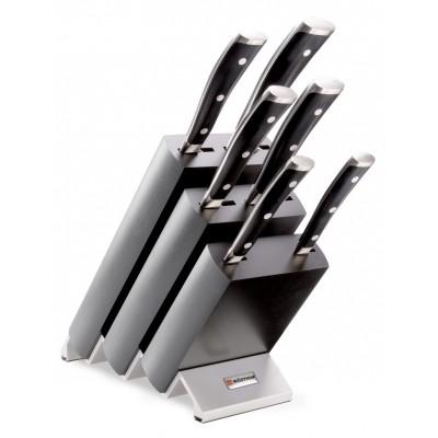 Wusthof Blok noży z 6 elementami - Classic Ikon W-9876
