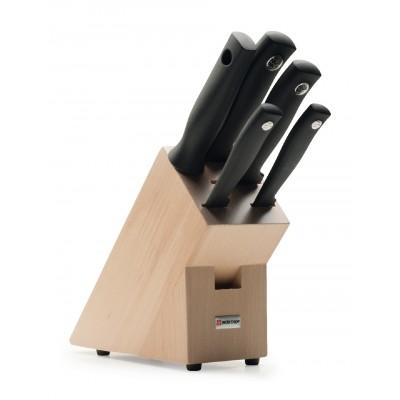 Wusthof Blok noży z 5 elementami - Silverpoint W-9829
