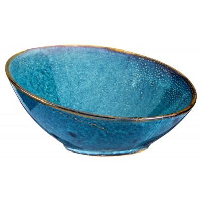 Verlo DEEP BLUE Misa bufetowa ukośna śr. 25 cm V-82000-2