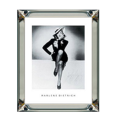 Plakat w Lustrzanej Ramie Pearl Marlene Dietrich 50 cm x 60 cm