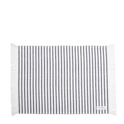 Podkładka Na Stół Affair Stripe Collection Biało Granatowa Lene Bjerre