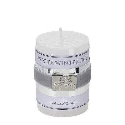 Lene Bjerre Świeca Zapachowa White Winter Iris Mała, 439400503