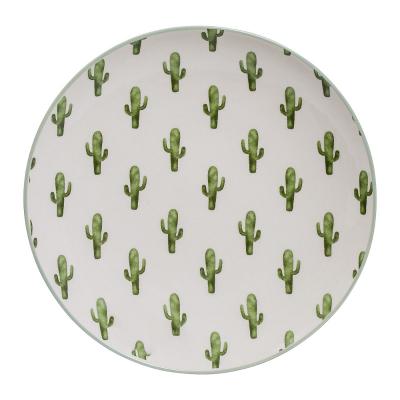 Talerz Jade w Kaktusy,  Ø 20 cm, Design De Vivre