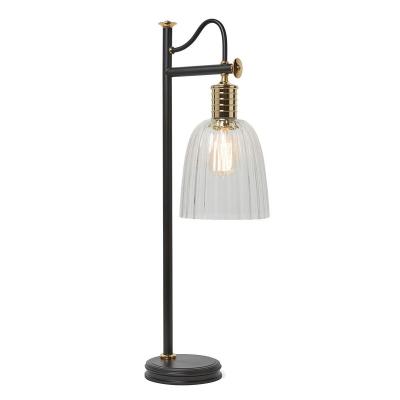 Feiss Lampa stołowa Douille, Czarno-Złota