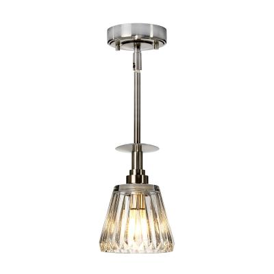 Elstead Lighting Lampa Wisząca Agatha, Nikiel