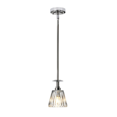 Elstead Lighting Lampa Wisząca Agatha, Chrom