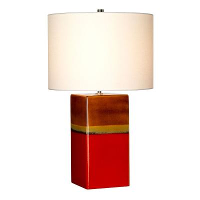 Elstead Lighting Lampa Stołowa Alba, Czerwona