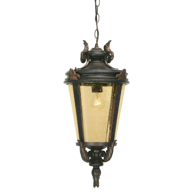 Elstead Lighting Zewnętrzna Lampa Wisząca Baltimore, Duża