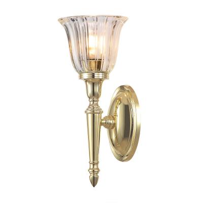Elstead Lighting Kinkiet Dryden, Mosiądz