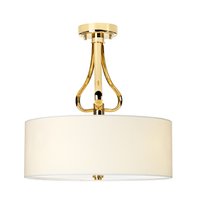 Elstead Lighting Plafon Falmouth, Złoty