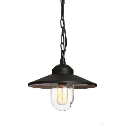 Elstead Lighting Zewnętrzna Lampa Wisząca Klampenborg, Czarna