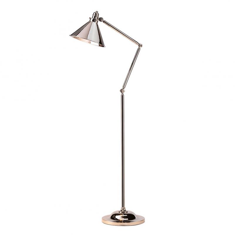 Elstead Lighting Lampa Podłogowa Provence, Nikiel