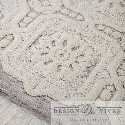 Ręczniki Clarisse w Kolorze Écru Design De Vivre