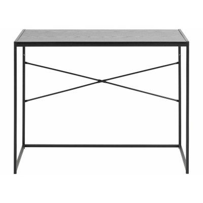 ACTONA biurko SEAFORD czarny jesion - MDF, metal 0000081602