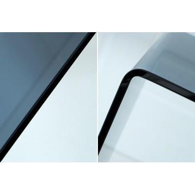 Invicta Interior INVICTA konsola szklana SCRIVA  antracytowa - szkło 10 mm. ET195GLGA/FX1-1