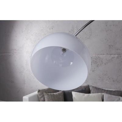 Invicta Interior INVICTA Lampa podłogowa SLACK biała  - 175-205 cm SL286WE/HLT3-1