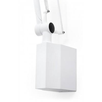 King Home Kinkiet RAYON ARM WALL biały - LED, klosz z tkaniny 720W.WH.FABRIC