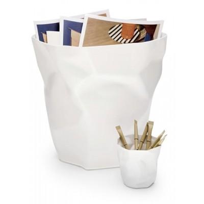 King Home Kosz na śmieci PLAST biały BB-01.WHITE